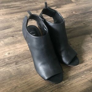 GAP Shoes - Open toe booties from the Gap
